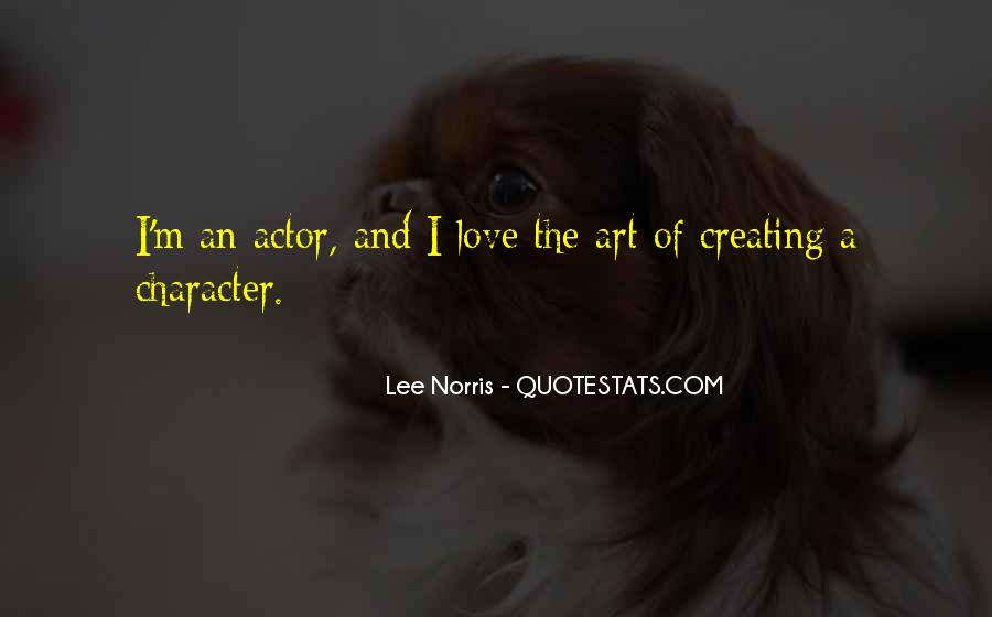 Quotes About Character And Love #262979