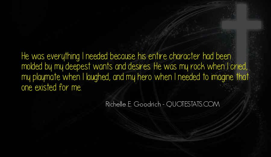 Quotes About Character And Love #278081