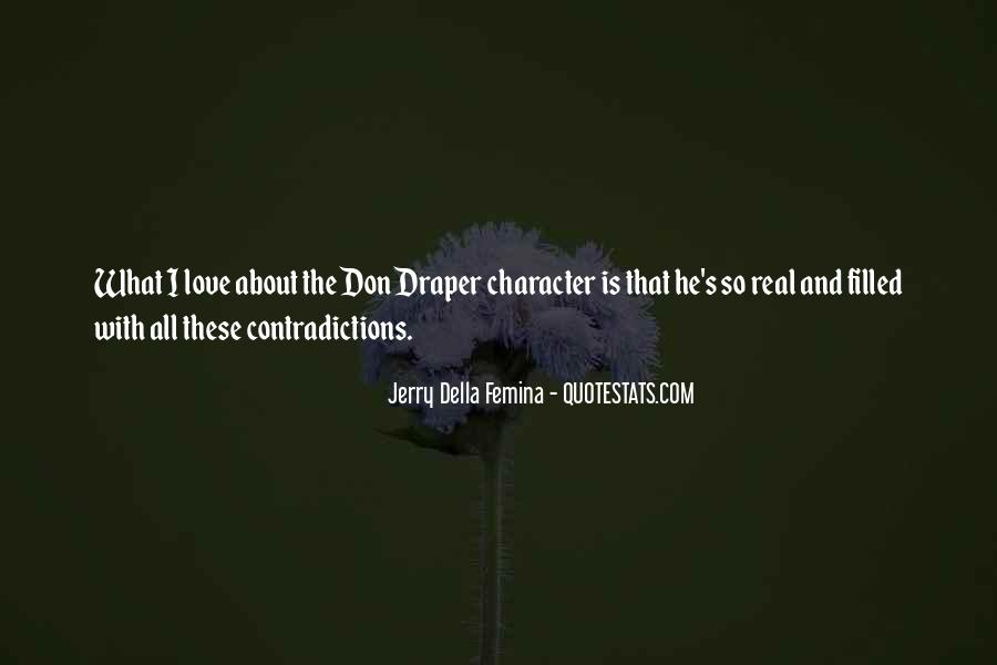 Quotes About Character And Love #312714