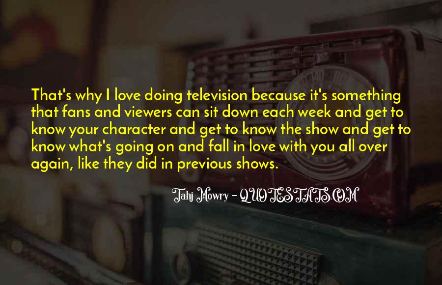 Quotes About Character And Love #316479
