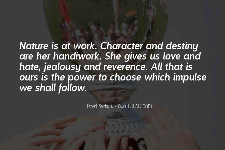 Quotes About Character And Love #360988
