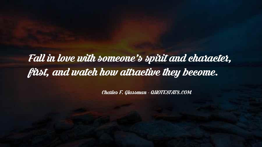 Quotes About Character And Love #373578