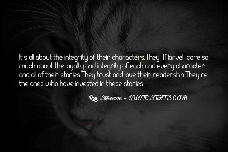 Quotes About Character And Love #404776