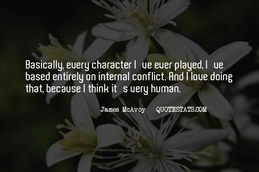 Quotes About Character And Love #43614