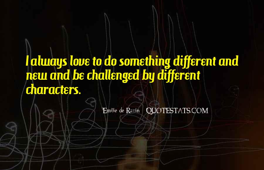 Quotes About Character And Love #71027