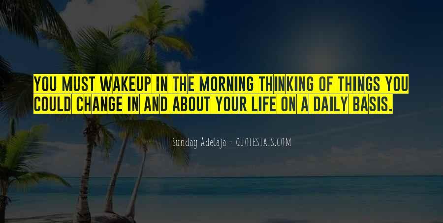 Wakeup Quotes #551898