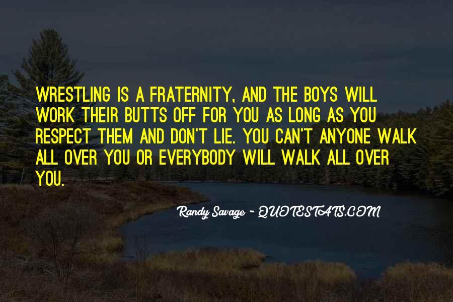 Walk'd Quotes #8767