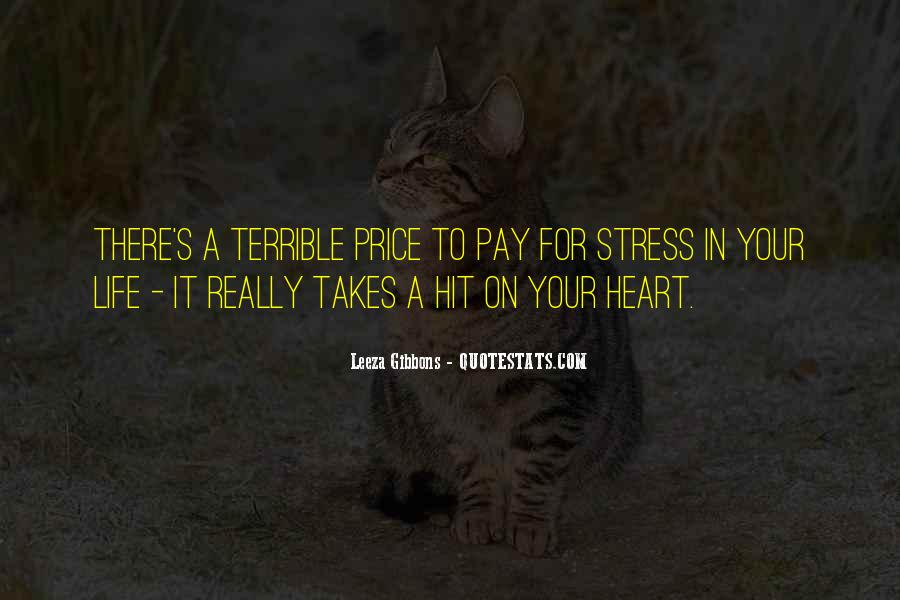 Quotes About No More Stress #40925