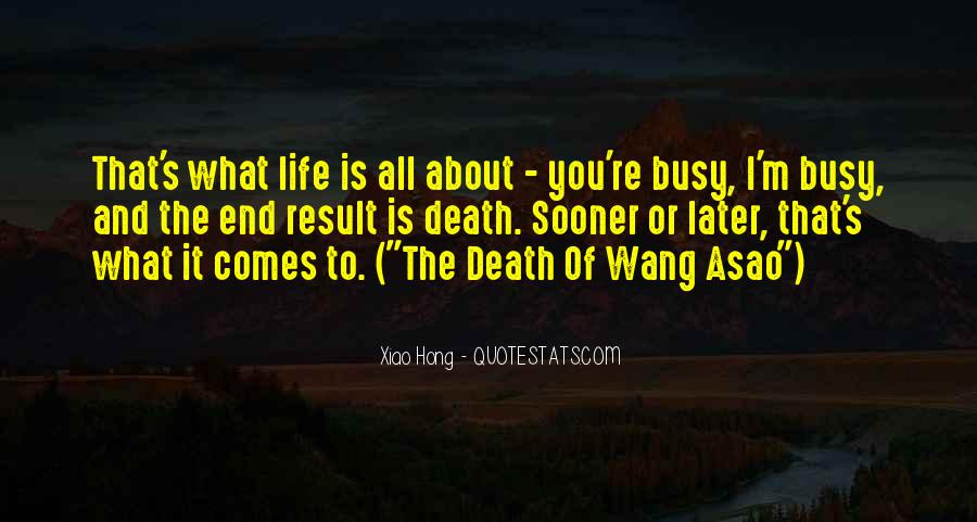 Quotes About Busy Work Life #1824246