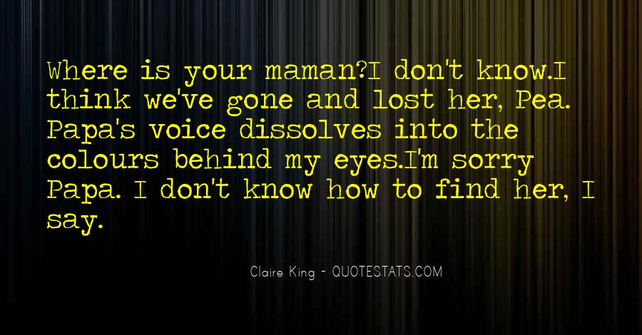 Quotes About Behind My Eyes #1045399