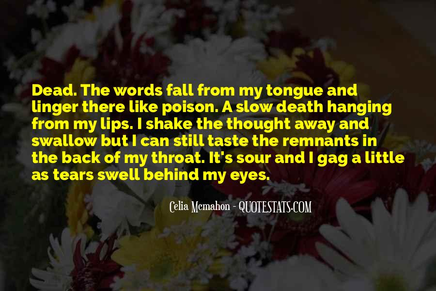 Quotes About Behind My Eyes #1095077