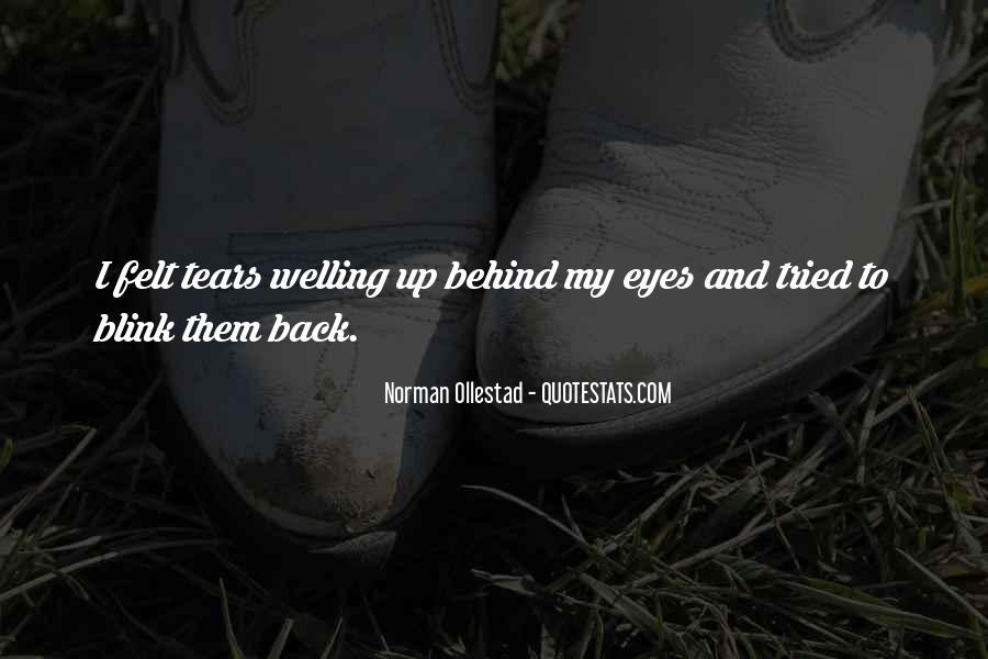 Quotes About Behind My Eyes #1131698