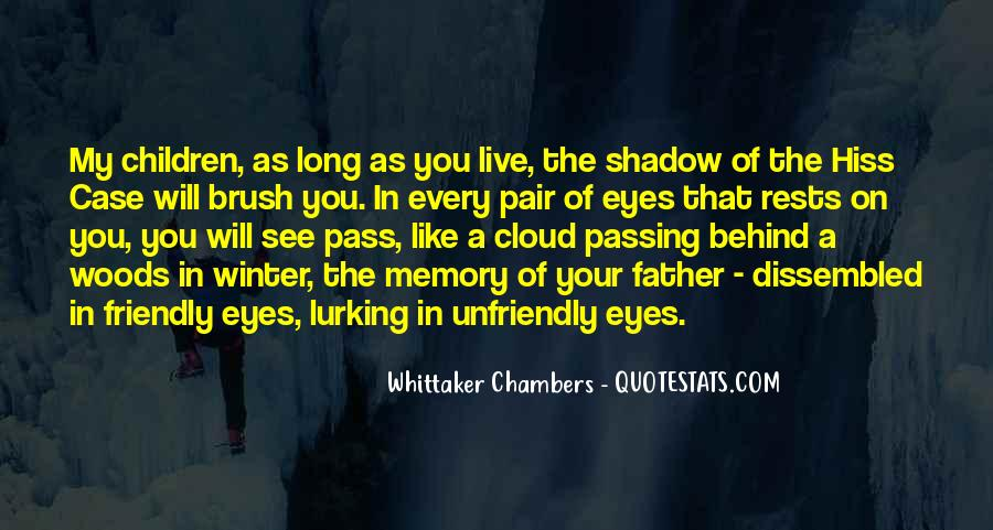 Quotes About Behind My Eyes #1395627