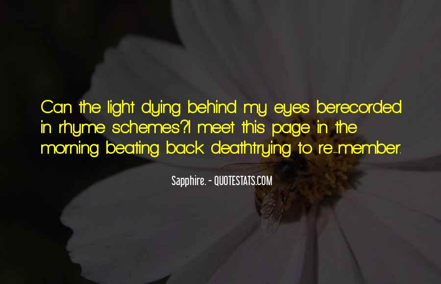 Quotes About Behind My Eyes #447073