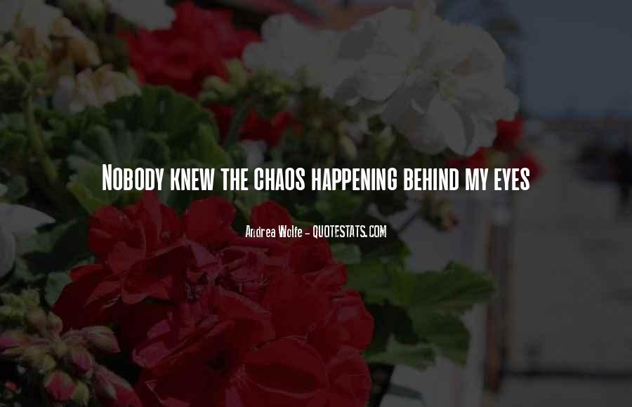Quotes About Behind My Eyes #586210