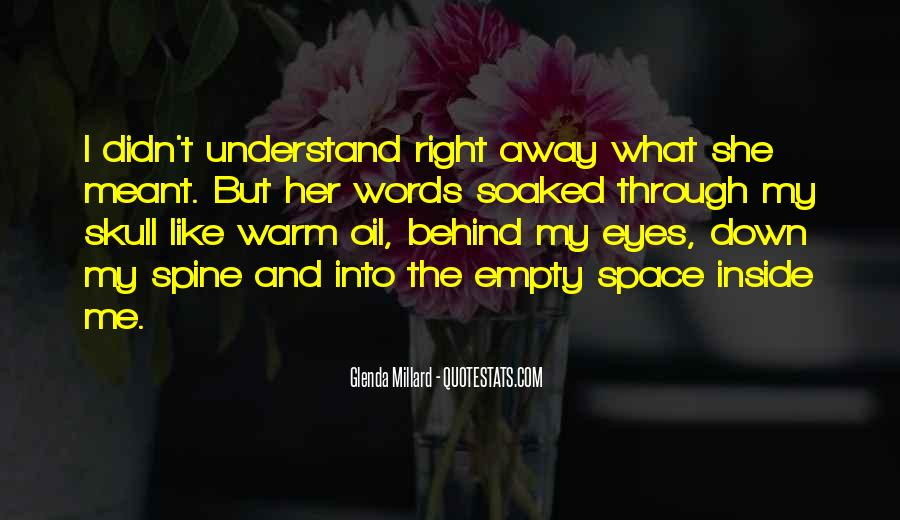 Quotes About Behind My Eyes #884853