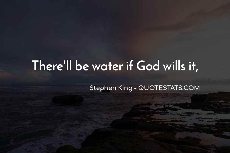 Water'll Quotes #1023225