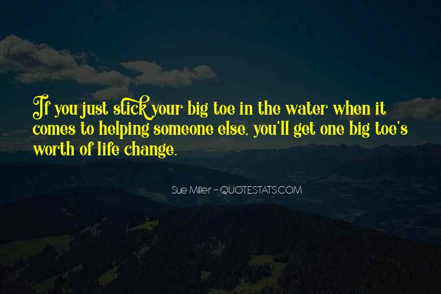 Water'll Quotes #116556