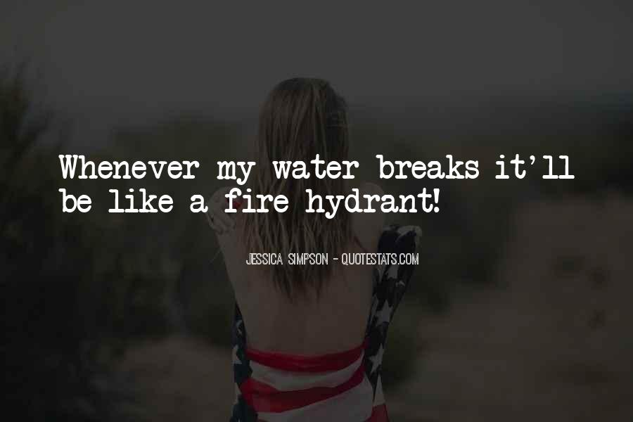 Water'll Quotes #147083