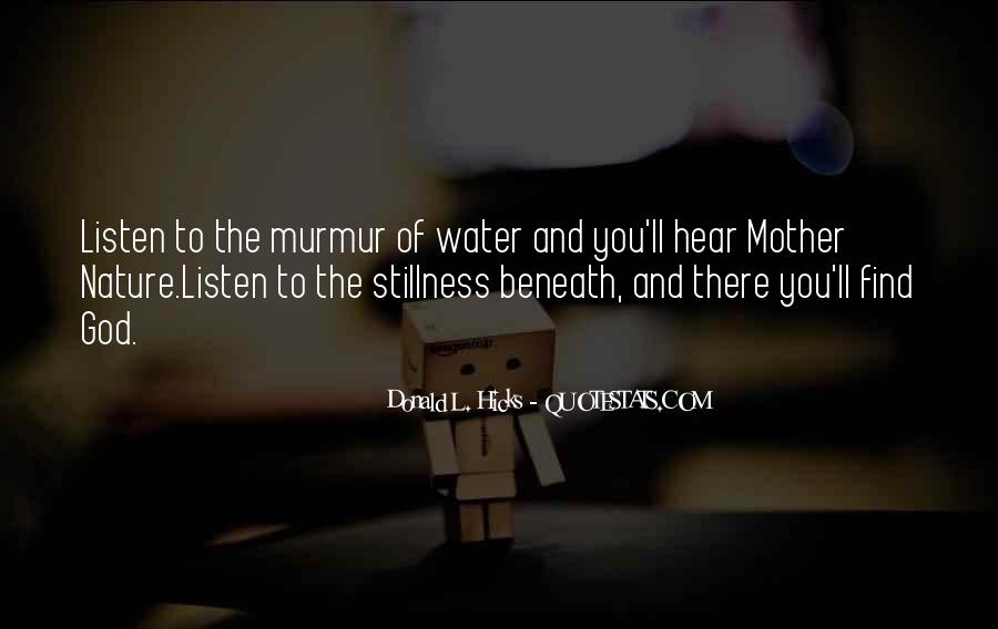 Water'll Quotes #149153