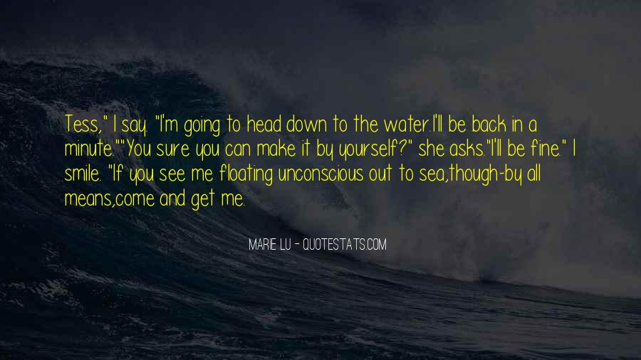 Water'll Quotes #208078