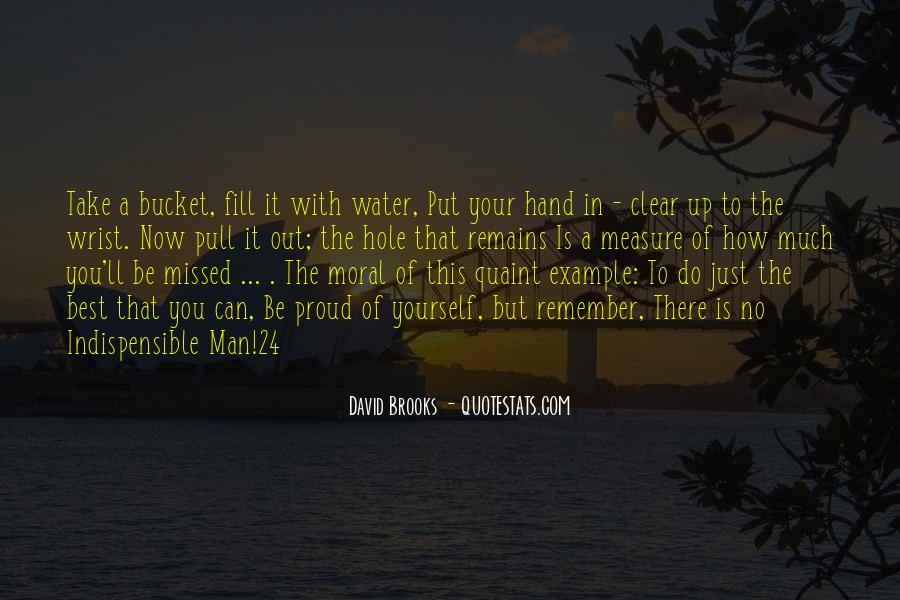 Water'll Quotes #453530