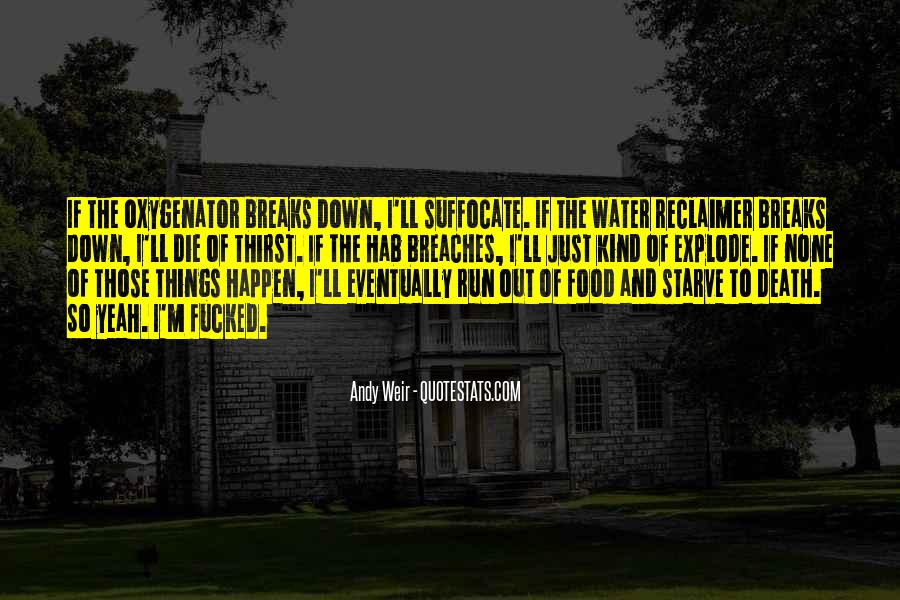 Water'll Quotes #484510