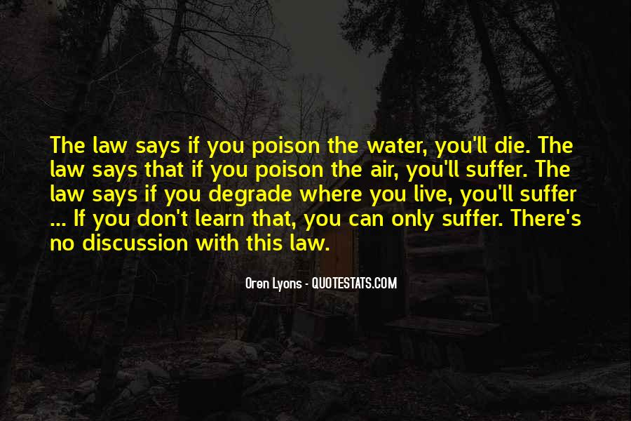 Water'll Quotes #507080