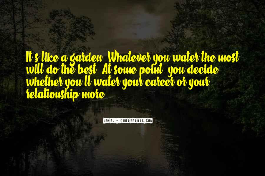Water'll Quotes #521676