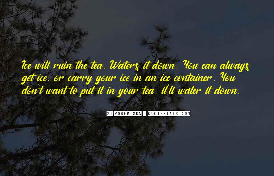 Water'll Quotes #572146