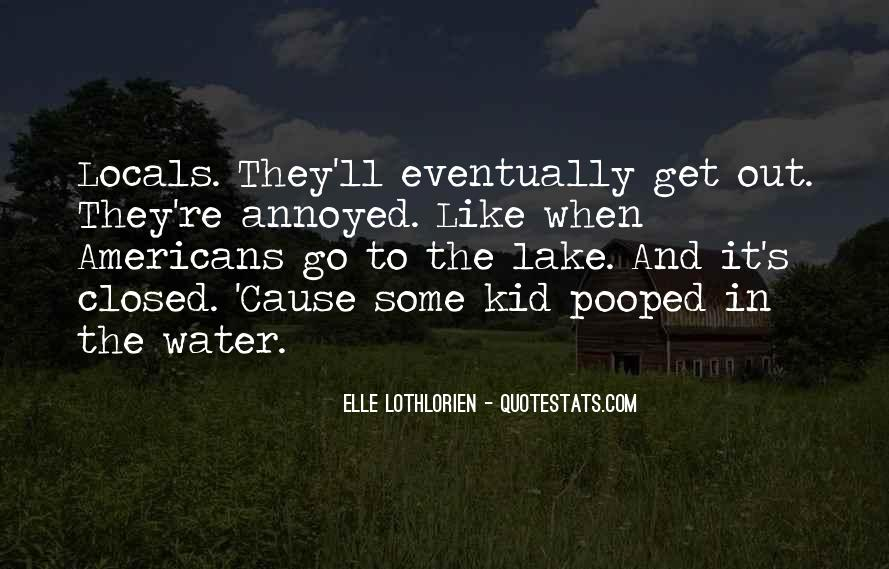 Water'll Quotes #662843
