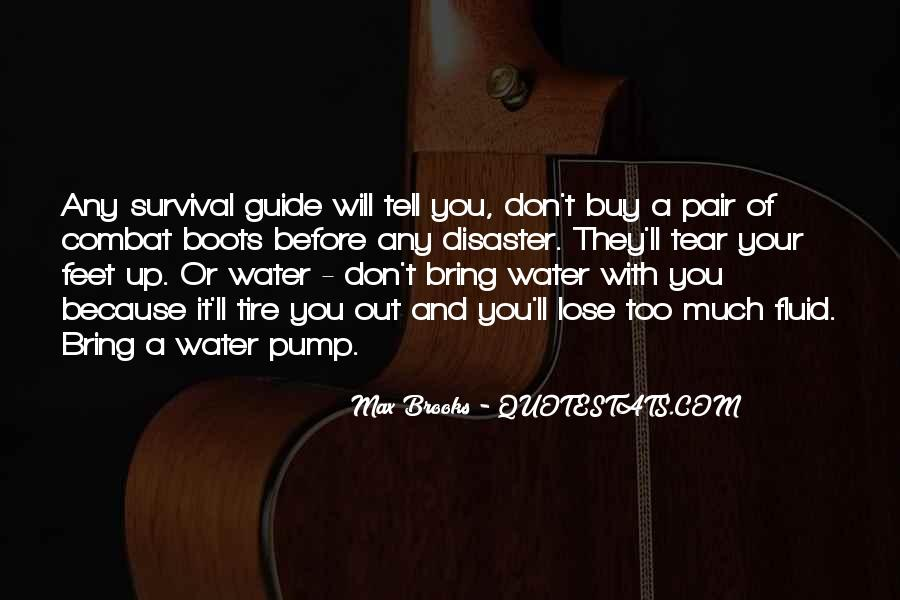 Water'll Quotes #789851