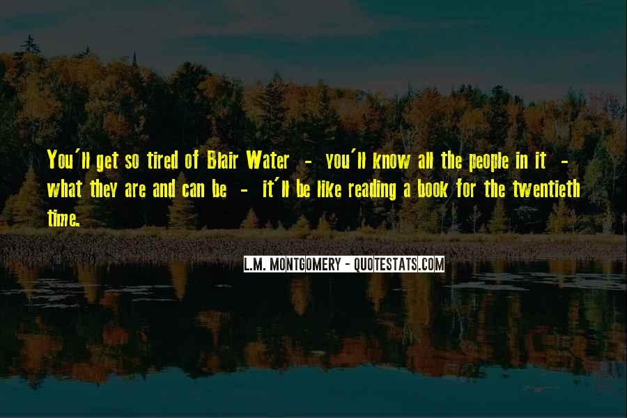 Water'll Quotes #849148