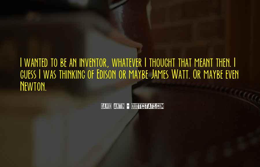 Watt's Quotes #100123