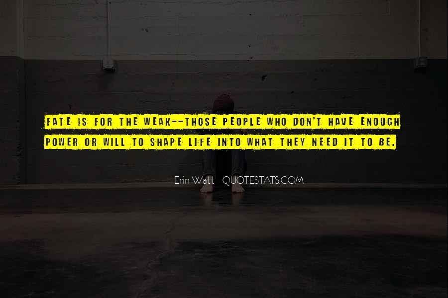 Watt's Quotes #270151