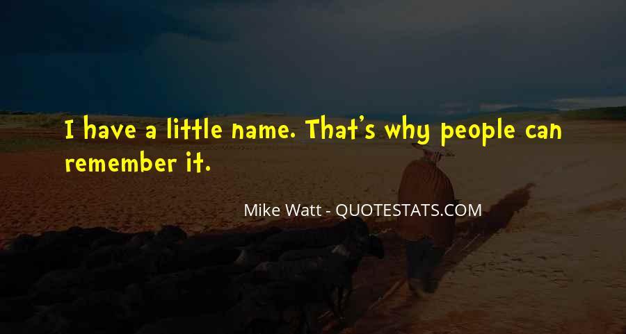 Watt's Quotes #433375