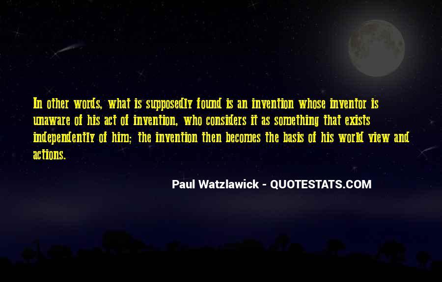 Watzlawick Quotes #1615193