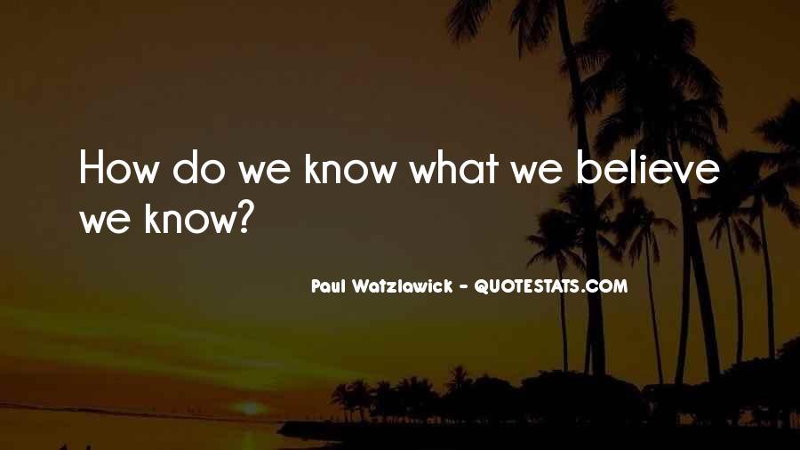 Watzlawick Quotes #197148
