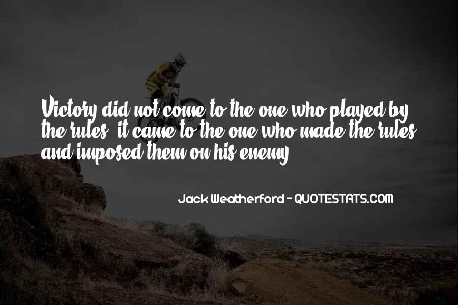 Weatherford Quotes #1084943