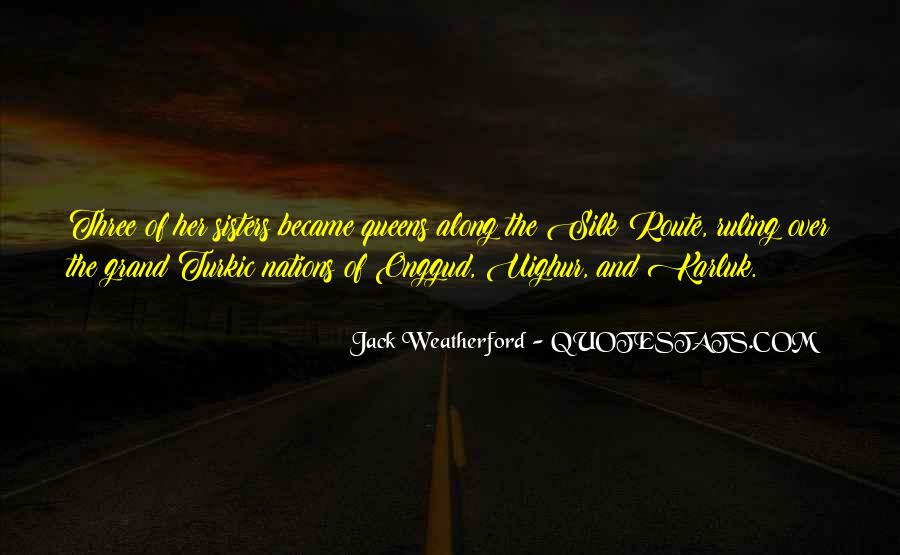 Weatherford Quotes #1805092