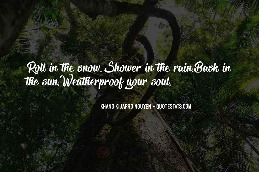 Weatherproof Quotes #1597353