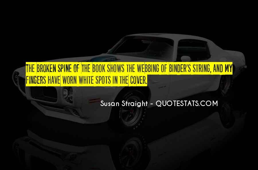 Webbing Quotes #345305