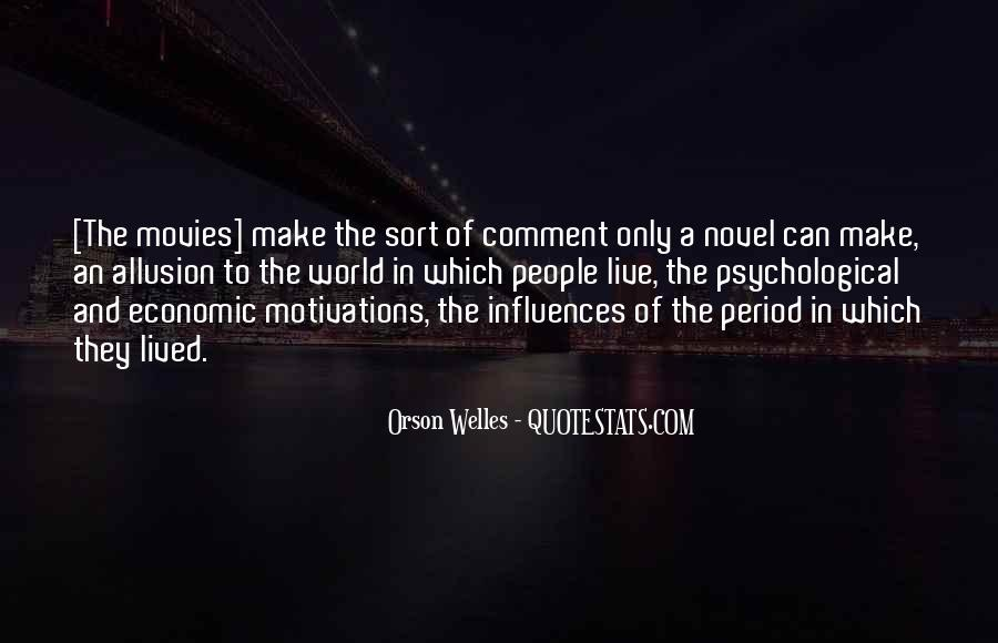 Welles's Quotes #159137