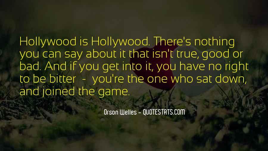 Welles's Quotes #1732376