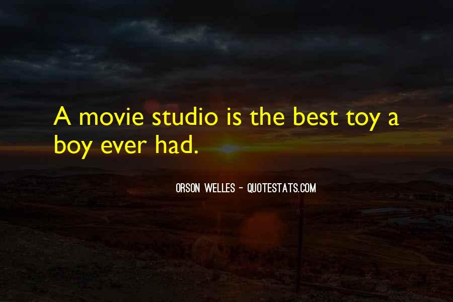 Welles's Quotes #206886