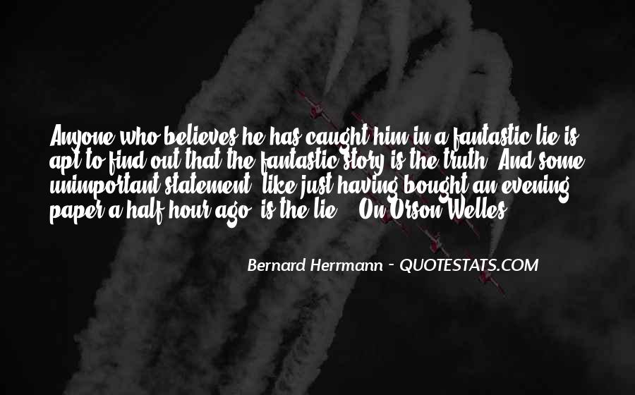 Welles's Quotes #214283