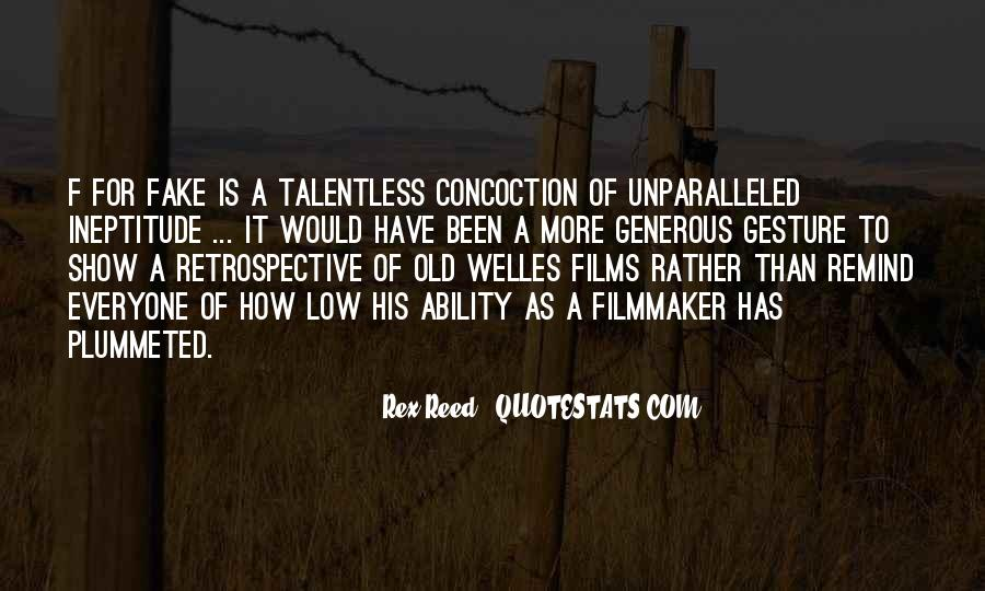 Welles's Quotes #241959