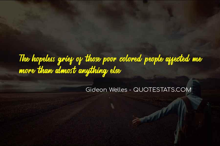 Welles's Quotes #272070