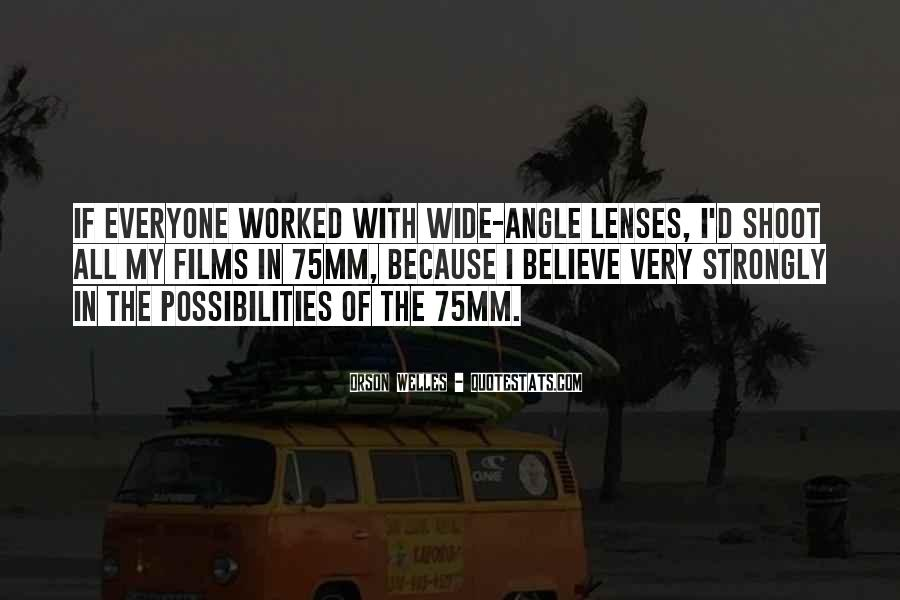 Welles's Quotes #331251