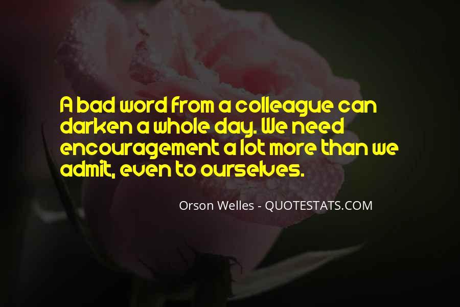 Welles's Quotes #338746